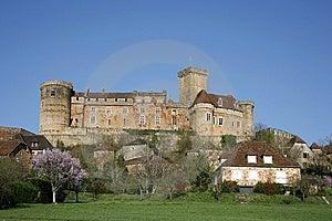 Castle Of Bretenoux Royalty Free Stock Image - Image: 8664256