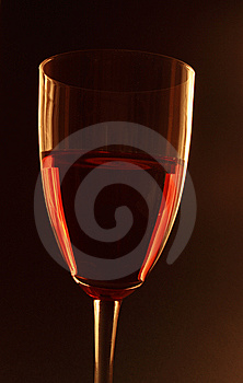 Glass Of Red Wine Royalty Free Stock Image - Image: 8664276