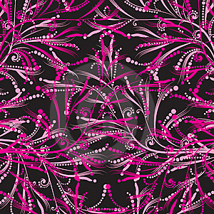 Pink Floral Pattern Stock Photos - Image: 8664763