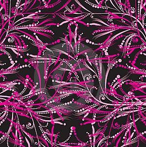 Modello Floreale Rosa Fotografie Stock - Immagine: 8664763