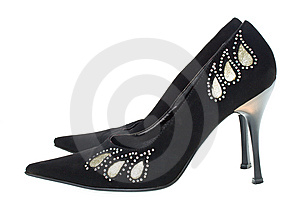Black Woman Shoes Stock Photos - Image: 8664943