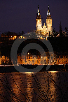 Vysehrad - The Castle On The Heights Stock Photo - Image: 8665050