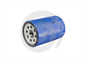 Greasy Used Automotive Oil Filter Stock Photography - Image: 8665492