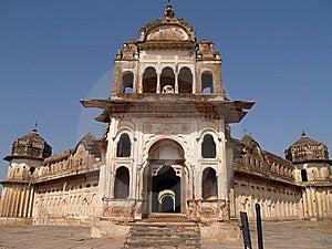 Palais Dans Orcha, Madhya Pradesh Image libre de droits - Image: 8666266