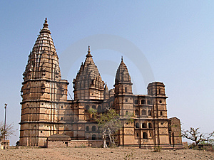 Paleis In Orcha, Madhya Pradesh Stock Foto - Afbeelding: 8666440