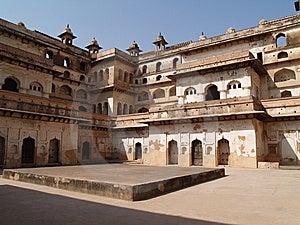Palast In Orcha, Madhya Pradesh Stockbild - Bild: 8666491