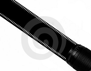 Tira Do Filme Foto de Stock Royalty Free - Imagem: 8666545
