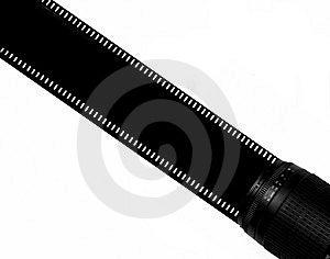 Film-Streifen Lizenzfreies Stockfoto - Bild: 8666545