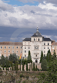 Academy Of Infantry, Toledo, Spain Royalty Free Stock Images - Image: 8666709