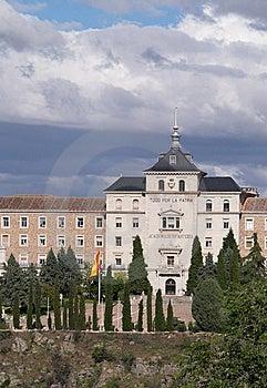 пехота Испания Toledo академии Стоковые Изображения RF - изображение: 8666709