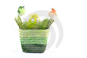 Easter Basket Royalty Free Stock Photos - Image: 8666768