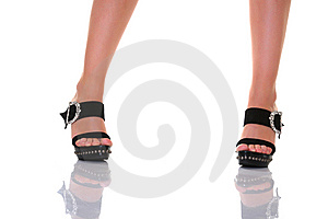 On Heels Royalty Free Stock Photo - Image: 8667025