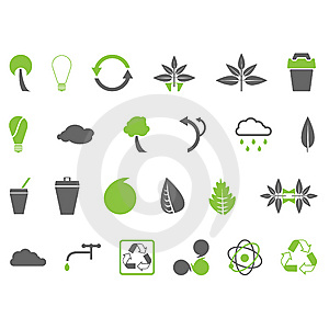Environmental Icons Stock Photo - Image: 8667110