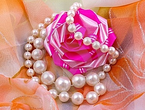 Still Life With Pearl Stock Photo - Image: 8667240