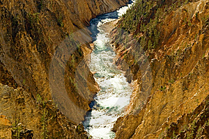 Yellowstone River Stock Image - Image: 8667311