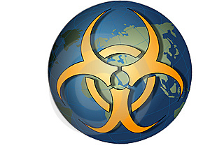Toxic Bio Hazard Globe Royalty Free Stock Photo - Image: 8667325