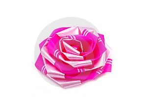Rose Bow Knot For Gift Royalty Free Stock Images - Image: 8667329