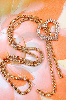 Jewelry With Heart Royalty Free Stock Photo - Image: 8667515