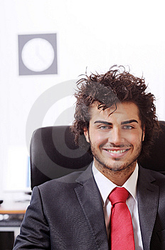 Businessman In The Office Stock Photos - Image: 8667523