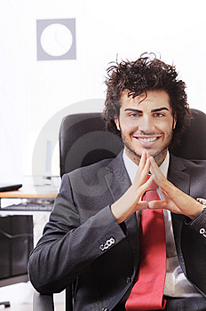 Businessman In The Office Stock Photo - Image: 8667540