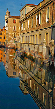 Venice Canal Royalty Free Stock Photo - Image: 8667655