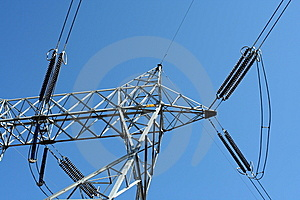 Power Lines Royalty Free Stock Images - Image: 8668019