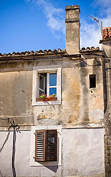 Old Wall Stock Photo - Image: 8668070