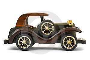 Carro De Madeira Do Brinquedo Imagem de Stock - Imagem: 8668401