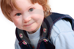 Portrait Of A Baby Royalty Free Stock Images - Image: 8668479