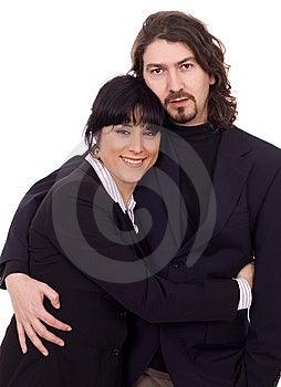 Business Couple Stock Image - Image: 8668691