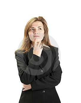 Portrait Of Businessewoman Stock Images - Image: 8668934