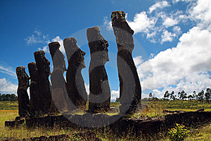 Easter Island Stock Photo - Image: 8668940