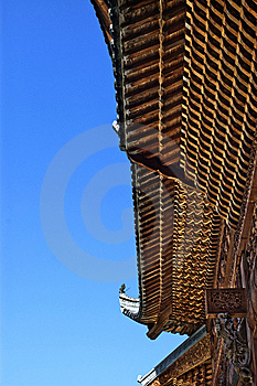 Chinese Roof Structure Royalty Free Stock Photos - Image: 8670848