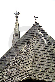 Church Roof, Cluj Village Royalty Free Stock Photo - Image: 8671565