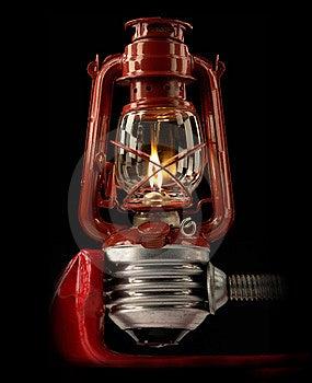 Kerosene Lamp Royalty Free Stock Photography - Image: 8673617