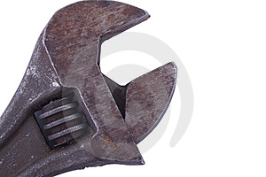 Adjustable Spanner Royalty Free Stock Images - Image: 8676539