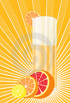 Citrus  Juice Royalty Free Stock Photo - Image: 8676735