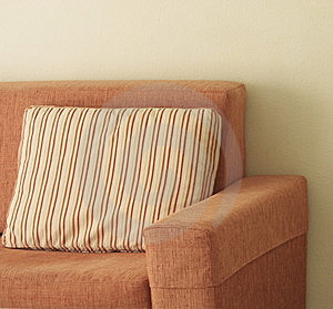 Orange Sofa Stock Photos - Image: 8677423