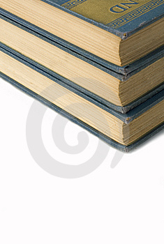 Text Books Stock Photo - Image: 8678630