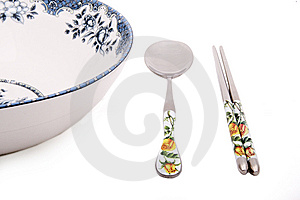 Chinese-style Tableware Royalty Free Stock Photo - Image: 8678895