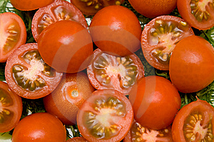 Tomato Salad Closeup Royalty Free Stock Photography - Image: 8680007