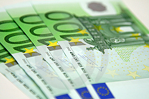 100 Euro Banknotes Stock Photography - Image: 8680212