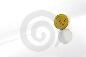 Euro Going Down Royalty Free Stock Photos - Image: 8681668