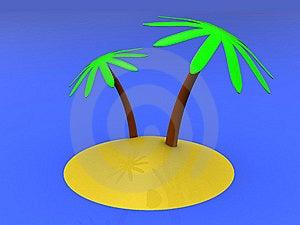 Tropic Island Stock Photo - Image: 8681680