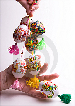 Set Ofcolorful Easter Eggs. Royalty Free Stock Photo - Image: 8684115