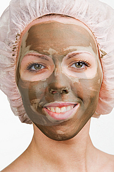 Facial Mask Royalty Free Stock Images - Image: 8684299