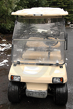 Golf Cart At Hotel Royalty Free Stock Images - Image: 8684399