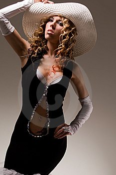 Sensual Blond Royalty Free Stock Images - Image: 8684699