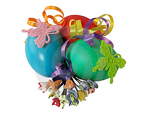 Easter Eggs Stock Photo - Image: 8685440