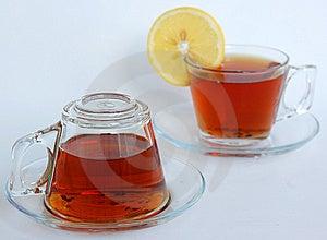 Teetassen, Eine Umgedreht Lizenzfreies Stockfoto - Bild: 8686135
